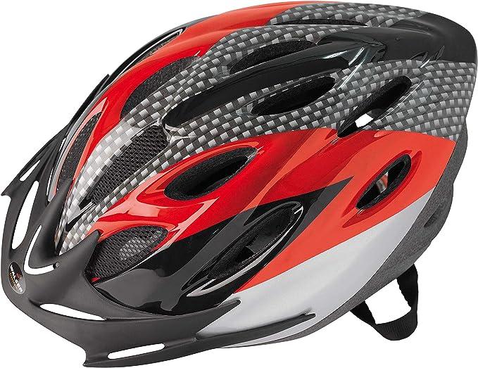 Walser radfahr Casco Sprinter nxtr Bicicleta Casco, Rojo, 54 – 58 cm: Amazon.es: Deportes y aire libre