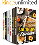 Comfort Cooking Box Set (6 in 1): Over 180 Southern Comfort Meals, Soups, Cakes, Slow Cooker and Air Fryer Recipes (Southern Recipes)