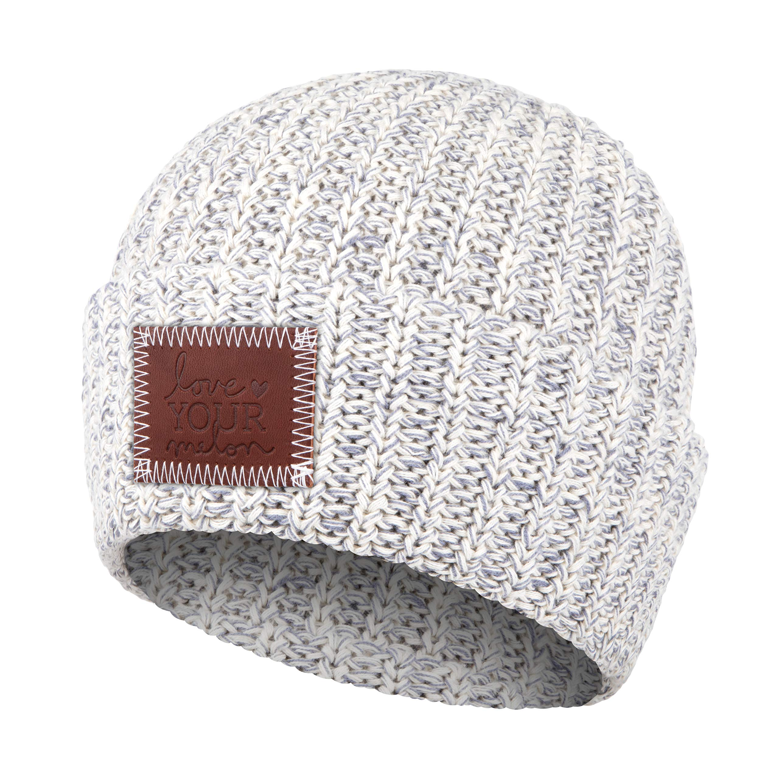 Love Your Melon Gray Speckled Cuffed Beanie