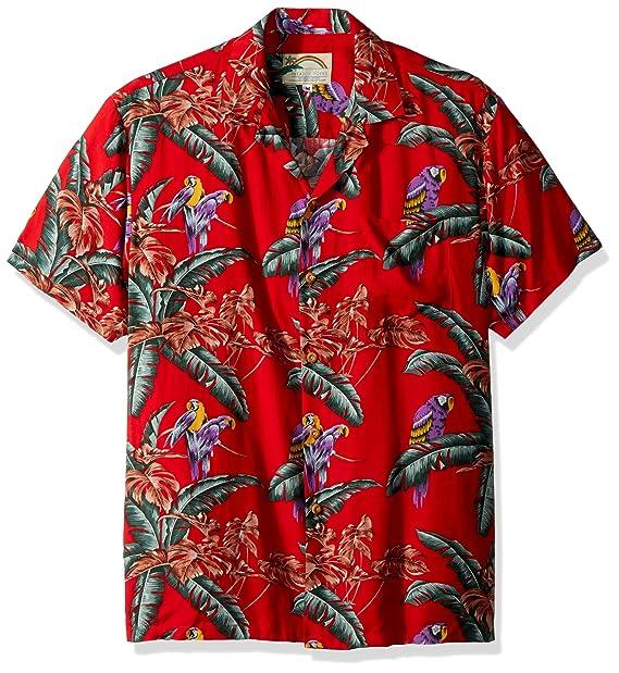 93818685 Jungle Bird Hawaiian Shirts - Mens Hawaiian Shirts - Aloha Shirt - Hawaiian:  Amazon.ca: Clothing & Accessories