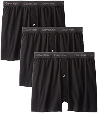 a078fa66c77f Calvin Klein Men's Cotton Classics 3 Pack Boxers at Amazon Men's ...