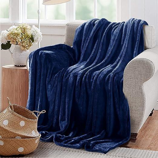Amazon Com Reafort Ultra Soft Flannel Fleece Royal Plush Velvet