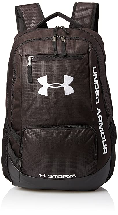 Under Armour Hustle II Backpack (Black)  Amazon.in  Sports 239910fbeded3