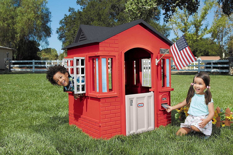 amazon com little tikes cape cottage red toys u0026 games