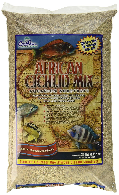 CaribSea African Cichlid Mix for Aquarium, 20 lb