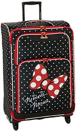 fa068d59cc American Tourister Disney 28 quot  Spinner Luggage Minnie Mouse ...