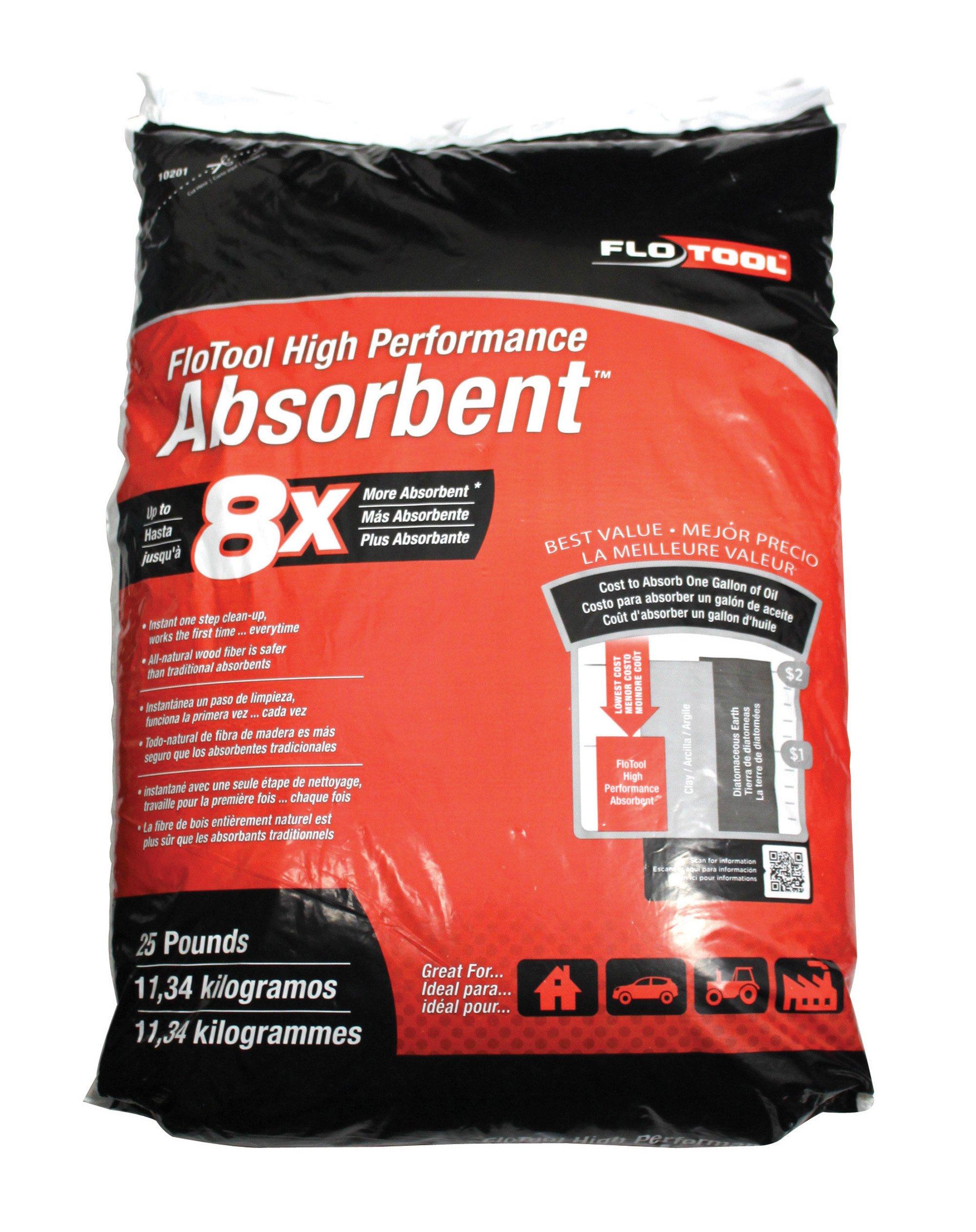 Hopkins 10201 FloTool Super-Absorbent, 25lb. Capacity