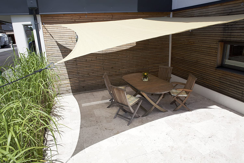 Windhager 10966 Tenda da Sole Piazza 5 m Canna,