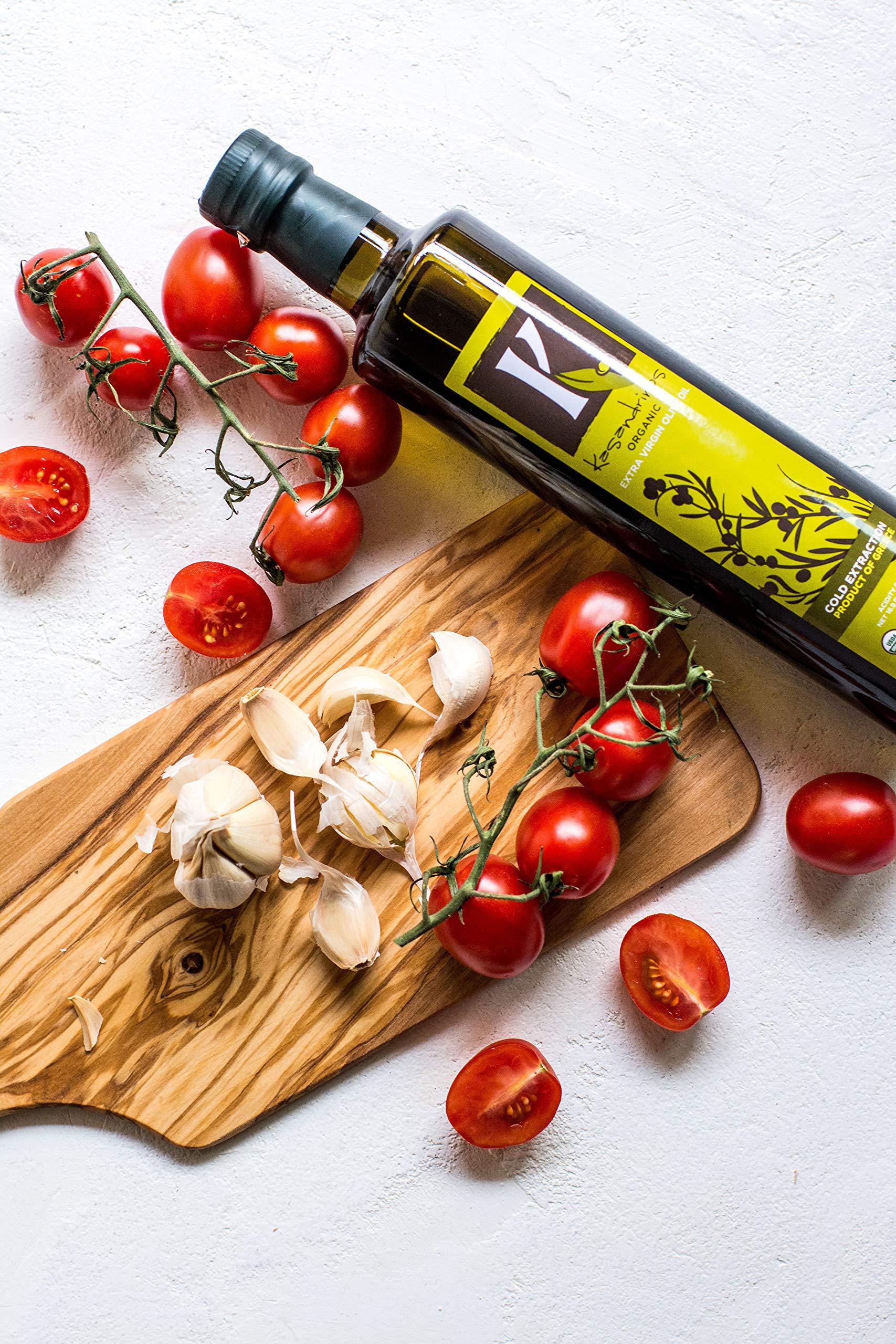 Kasandrinos Organic 2 Pack olive oil 500 ml Bottles by K. KASANDRINOS (Image #5)