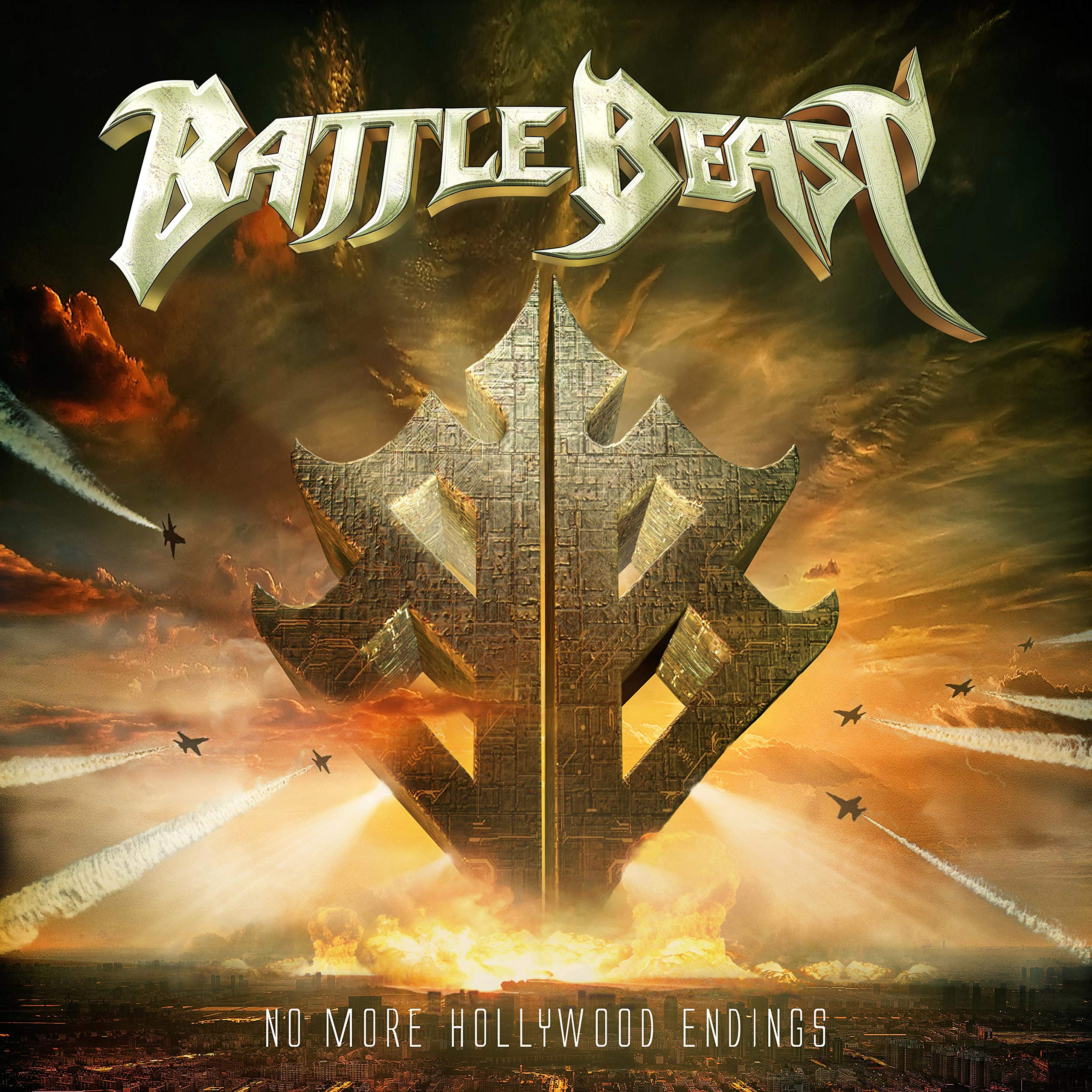 CD : Battle Beast - No More Hollywood Endings (CD)