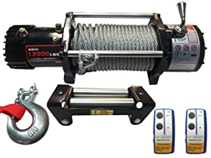 If you need to haul one of these thenX-BULL12000lbs 12V Electric Recovery Winch is just perfect for you.