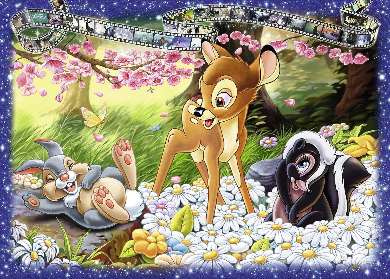Disney - Puzzle, diseño Bambi, 1000 Piezas (Ravensburger 19677): Amazon.es: Juguetes y juegos