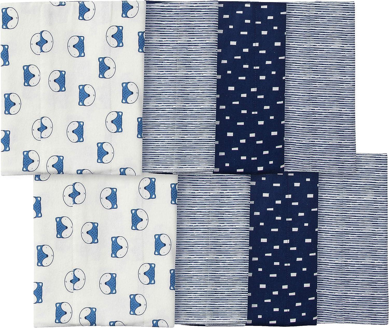 GERBER Baby 8-Pack Flannel Burp Cloth