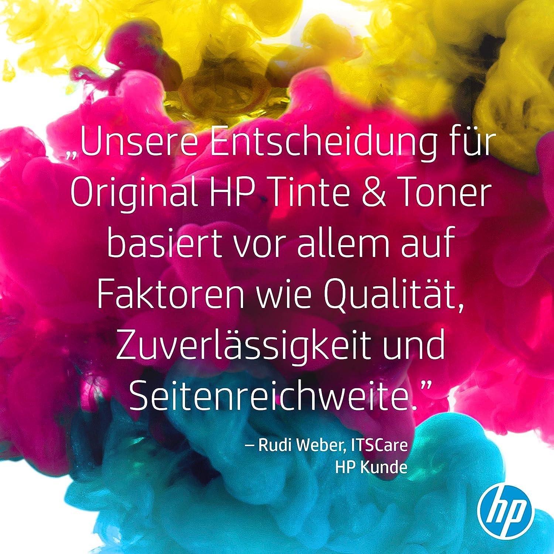 CF373AM HP 125A 3er-Pack CP1515 CM1312 Cyan//Magenta//Gelb Original Toner f/ür HP Color Laserjet CP1215