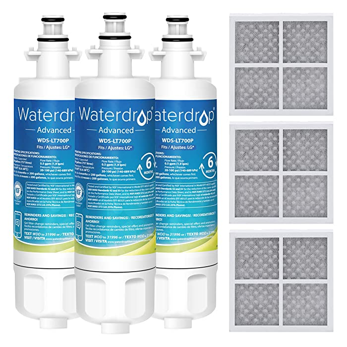 The Best Waterdrop Lg Refrigerator Water Filter Lt700p