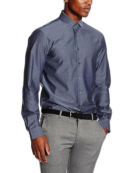 new products b3131 a1081 Calvin Klein Norwich Fitted Fec, Camicia Uomo: Amazon.it ...