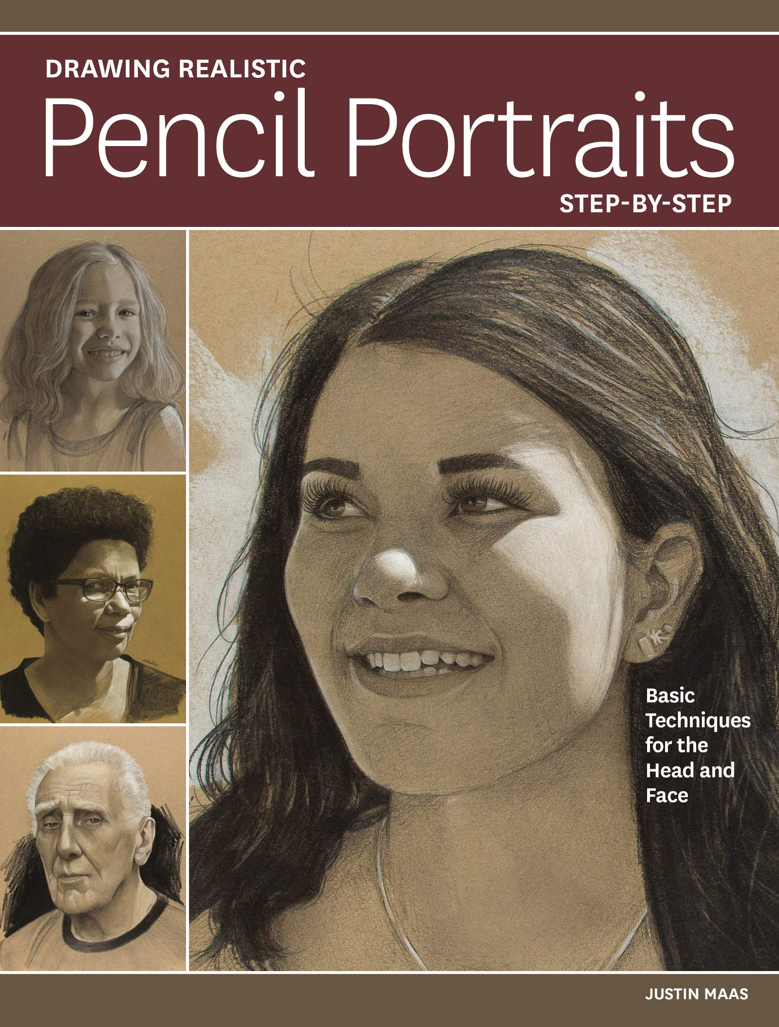 Drawing Realistic Pencil Portraits Step by Step: Basic