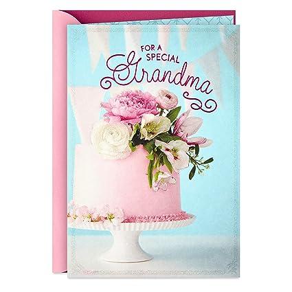 Hallmark - Tarjeta de felicitación de cumpleaños para abuela ...