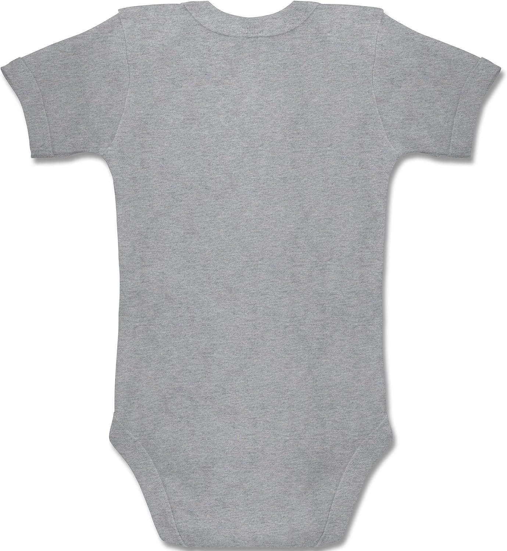 Strampler Motive Baby Body Kurzarm f/ür Jungen und M/ädchen Papa du schaffst das Feuerwehr M/ädchen Shirtracer