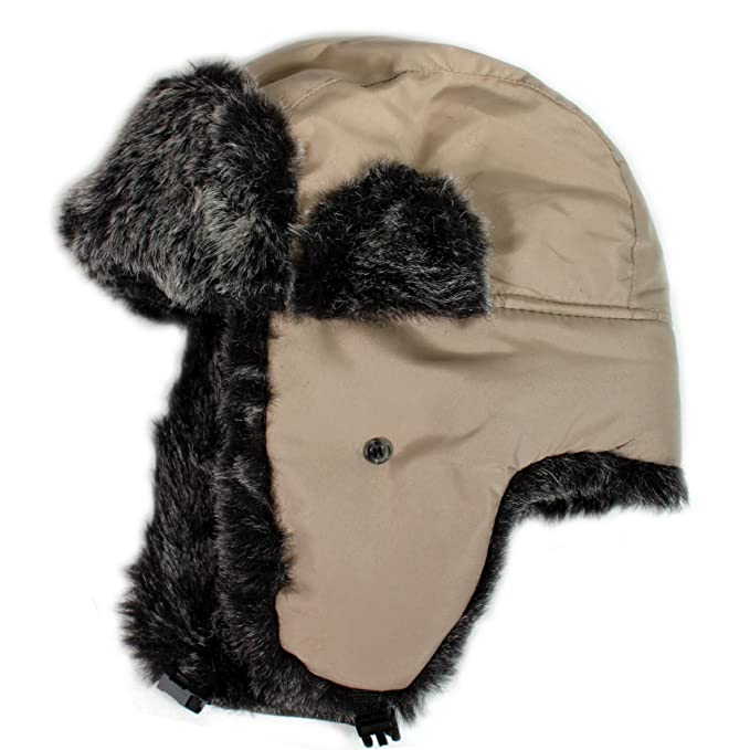 6d1ec6d6 Image Unavailable. Image not available for. Color: City Hunter W200n  Original Solid Trapper Hat ...
