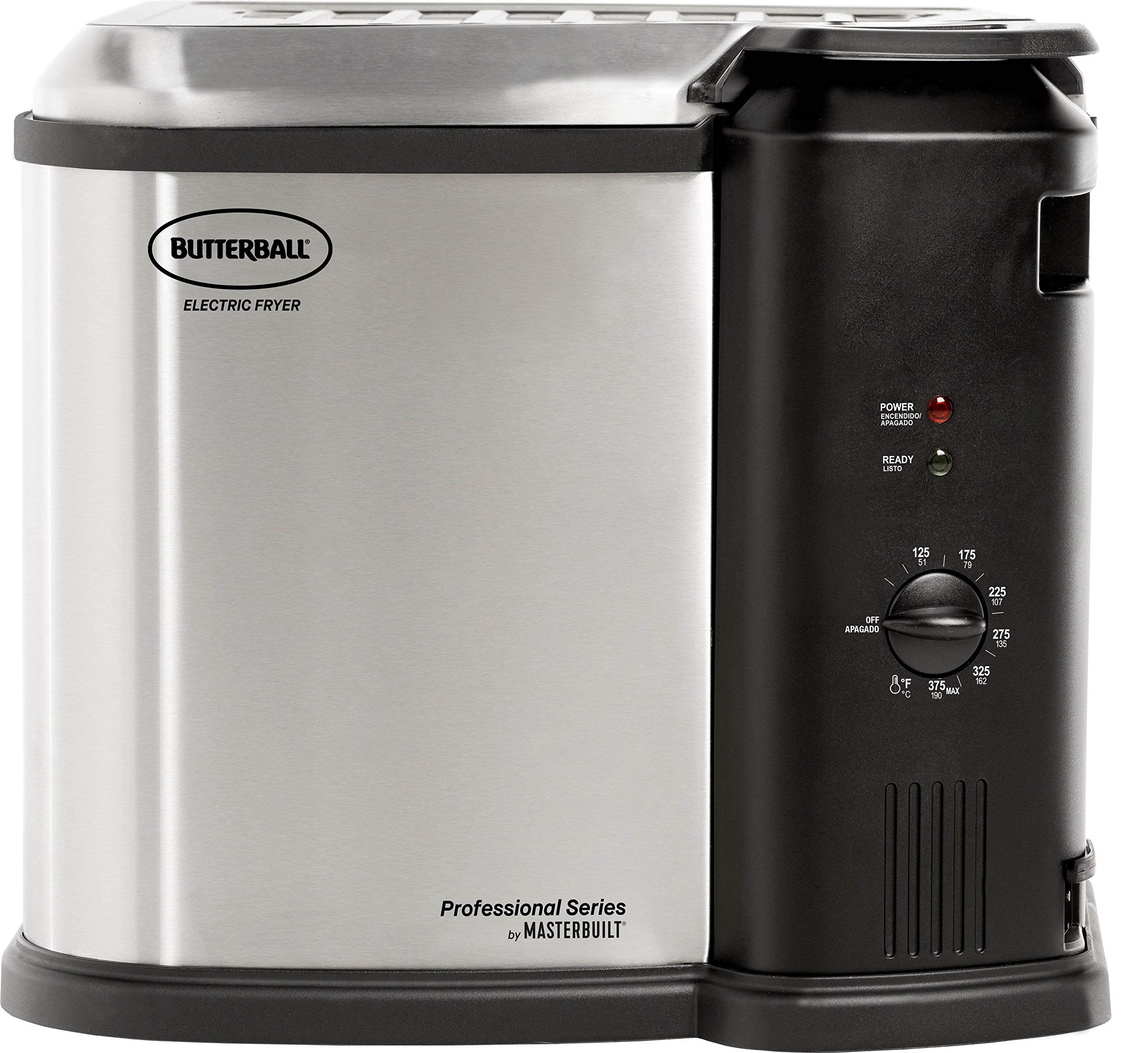 Masterbuilt MB23012418 Butterball XL Electric Fryer, Gray by Masterbuilt