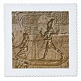 3dRose qs_69691_1 Egypt, Edfu, Outer Wall