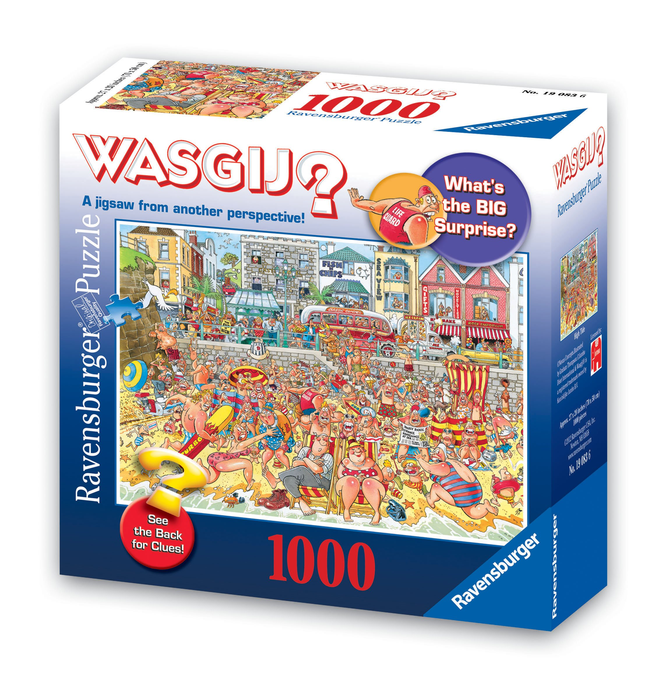 Wasgij Original: High Tide 1000 Piece Puzzle