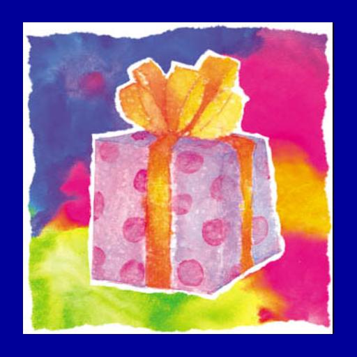 Digital Birthday Card - Gift Tagger