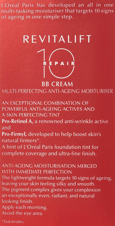 50 Teinte Crème Medium De Revitalift L'oréal Ml Bb MqzpUSV
