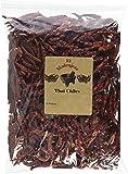Thai Whole Dried Chile -8 OZ Resealable Bag - El Molcajete Brand (8 Ounce)