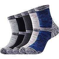 DERKUE Athletic Socks Comfort Breathable Sports socks 4 pairs Ankle Socks for women & men