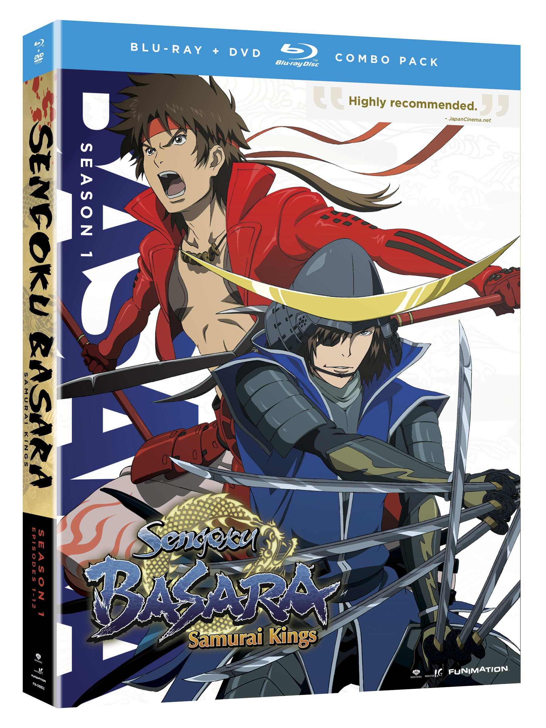 Blu-ray : Sengoku Basara: Samurai Kings - Complete Series (With DVD, Boxed Set, 4PC)