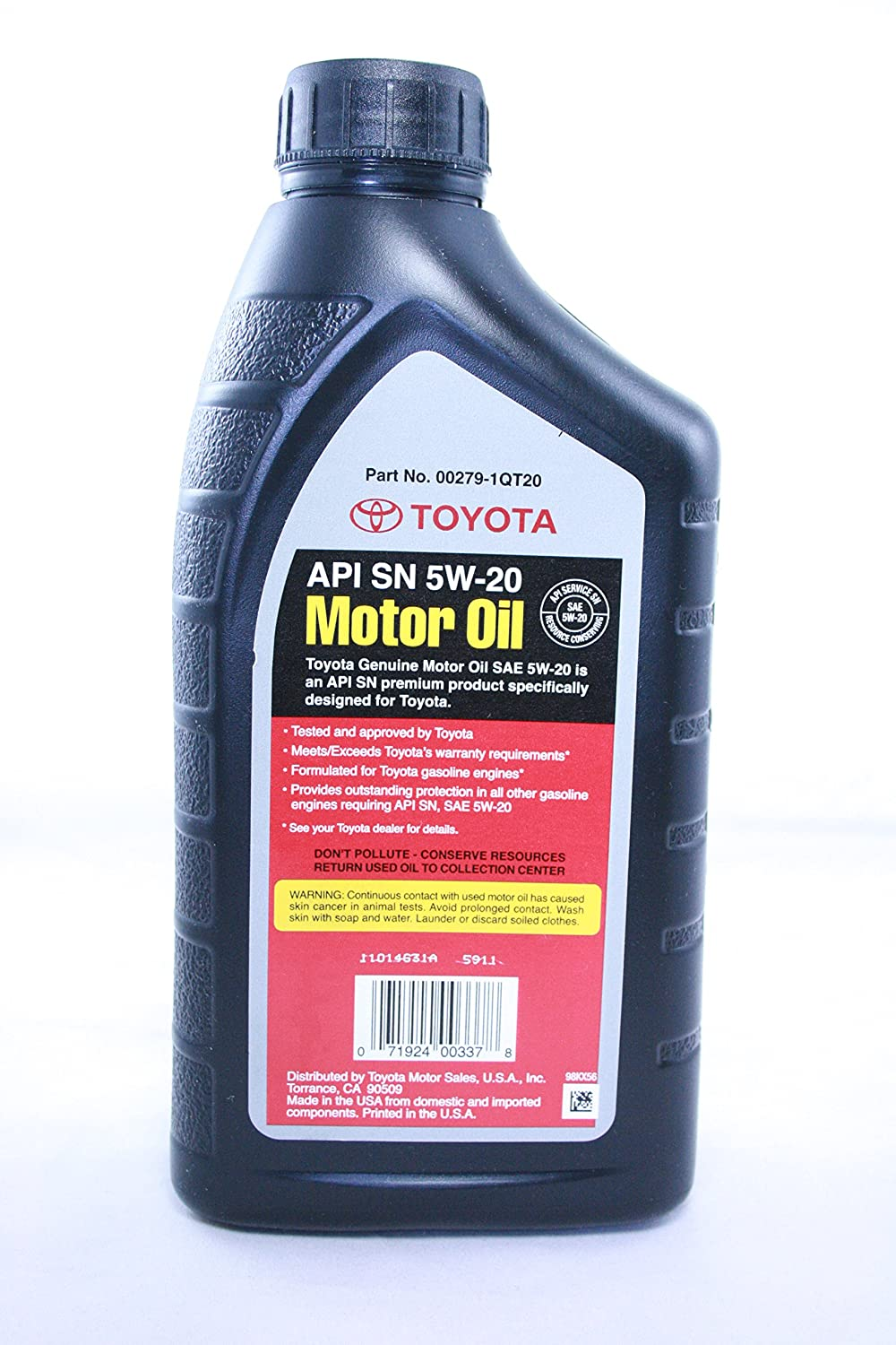 toyota genuine motor oil equivalent