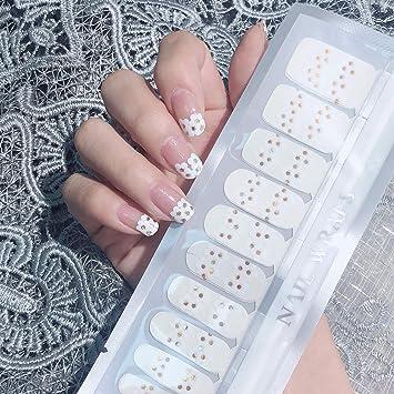 Color Lab 22PCS ADHESION Nail Art Transfer Decals Sticker Leopard Print  Series DIY Nail Polish Strips,Nail
