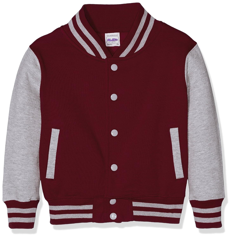 Chaqueta Bomber Para Hombre AWDis Varsity Jacket