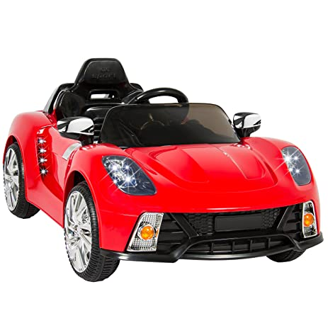 91JkV5nLiDL._SY463_ amazon com best choice products kids 12v ride on car with mp3  at gsmportal.co