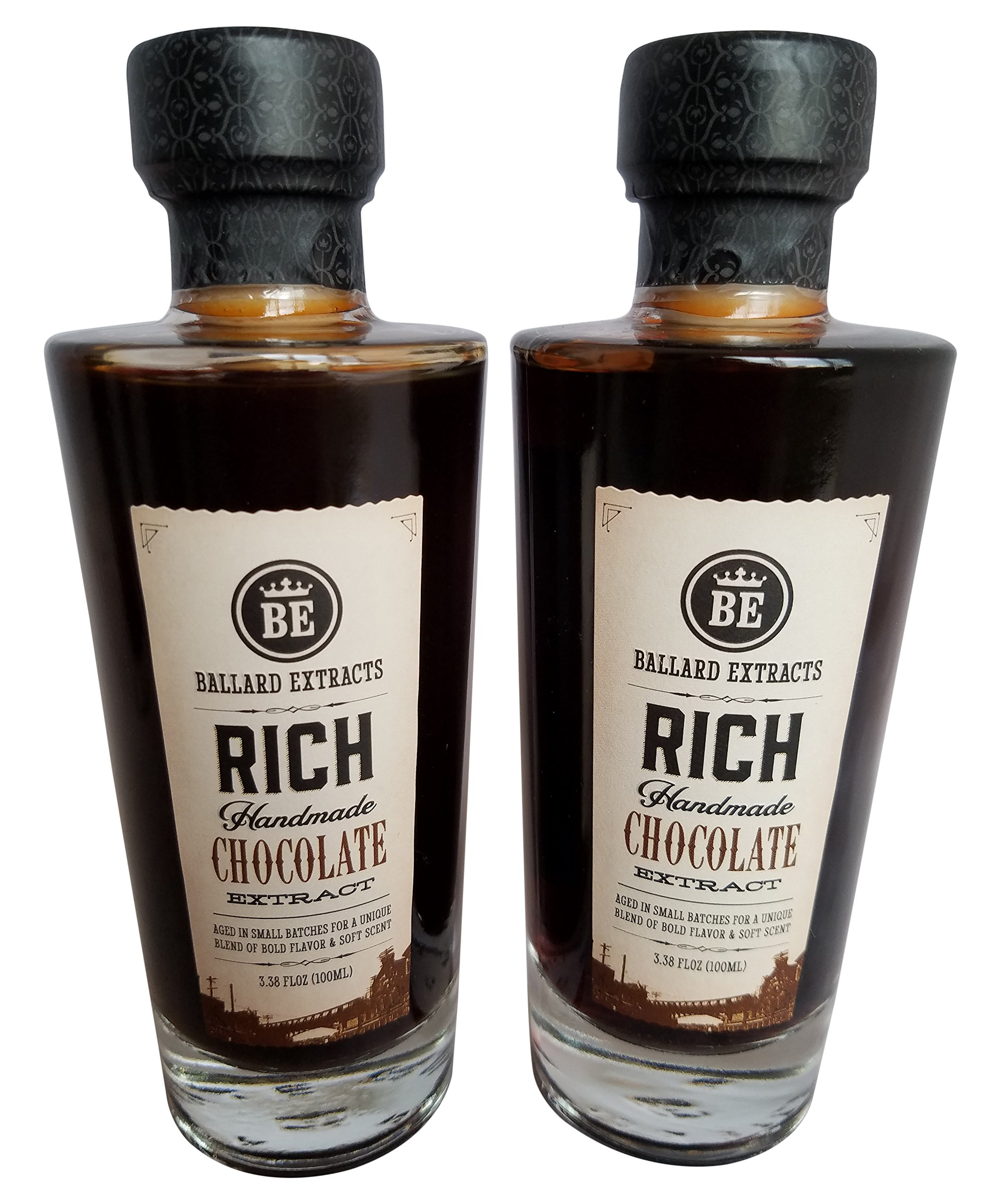 Ballard Extracts Chocolate and Chocolate Two Pack, 3.38 Ounce