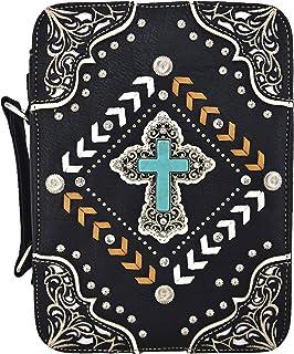 Amazon.com: Western bordado de Cruz Alas bolsos Herramentas ...
