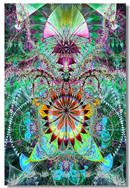 Psychedelic Trippy Abstract Art
