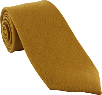 Michelsons of London - Corbata - para hombre amarillo Mostaza ...