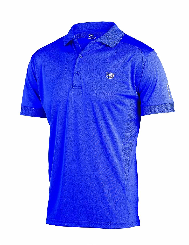 Wilson Staff Poloshirt Performance - Polo para Hombre, Color Azul ...