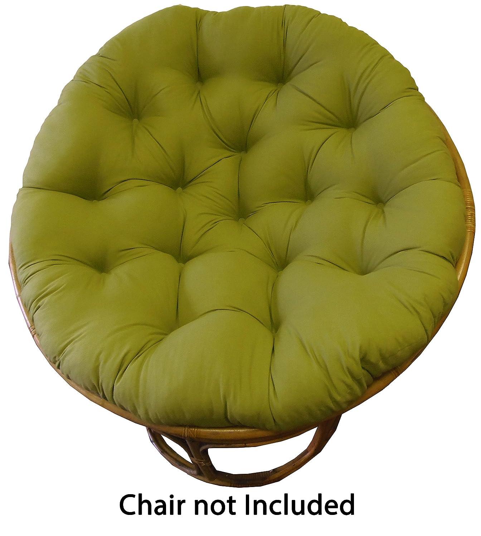 Amazon Cotton Craft Papasan Sage Overstuffed Chair Cushion