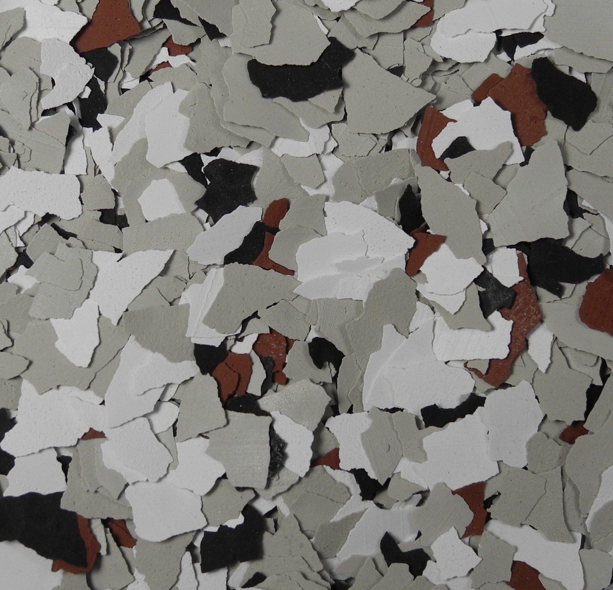 American Abrasive Supply, Vinyl Chip Blend Geneva 1/4'', VCPBRD1003