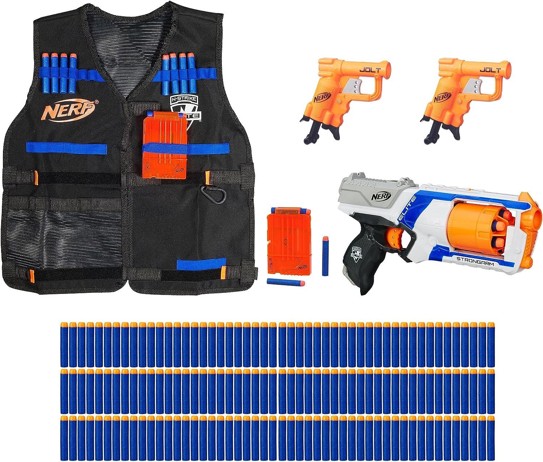 Amazon Com Nerf N Strike Elite Pack Bundle Amazon Exclusive Toys Games