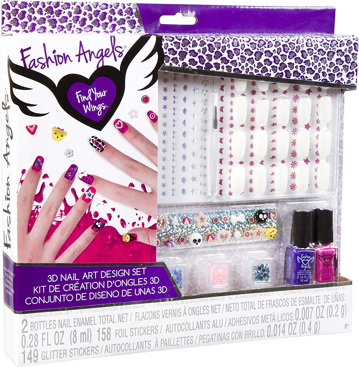 Stencil and Sticker Sheet SMU-1416 Set of Sketch Pages Note Pad for Kids Style Me Up