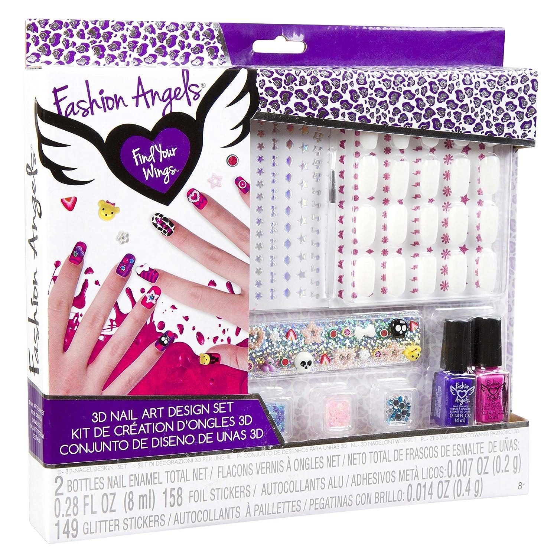 Fashion Angels 3D Nail Design Set: Amazon.co.uk: Toys & Games