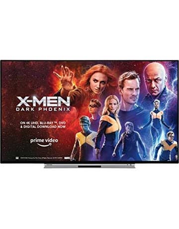 Toshiba 43UL5A63DB 43-Inch Smart 4K Ultra-HD HDR LED TV with Freeview Play - Black/Silver (2019 Model) [Energy Class A+]