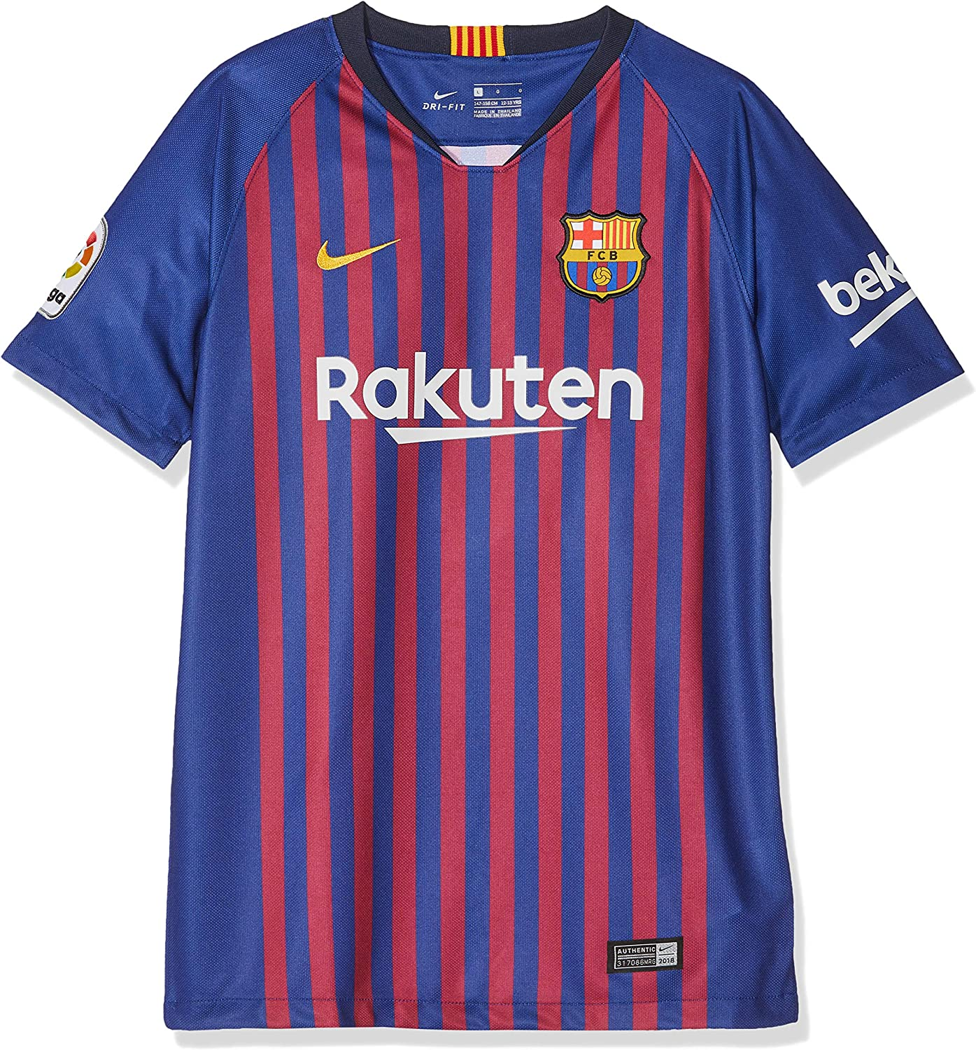 NIKE 2018-2019 Barcelona Home Shirt (Kids)