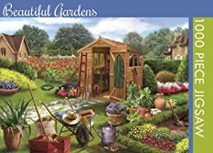 Beautiful Gardens Jigsaw Puzzle for Adults (1000 Pieces)