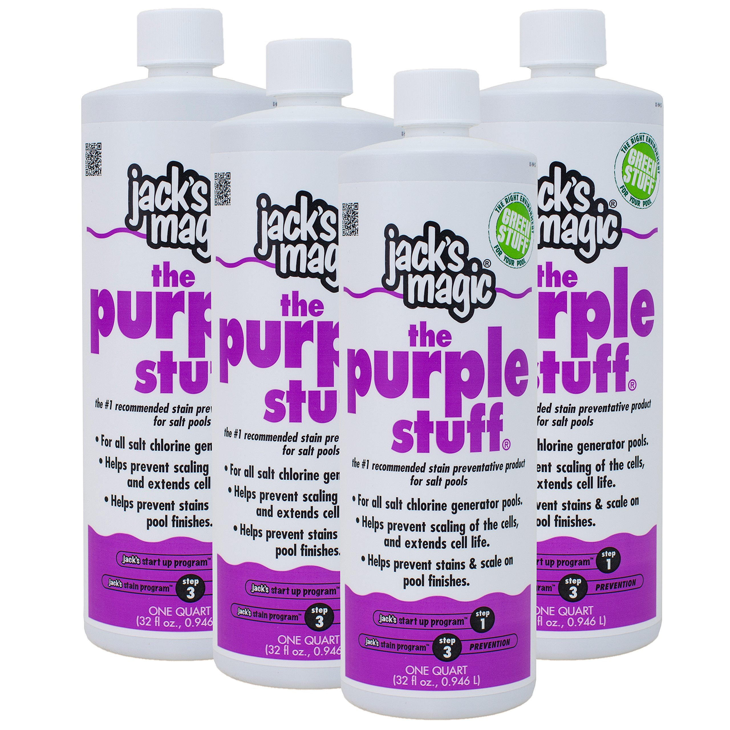 Jack's Magic The Purple Stuff (1 qt) (4 Pack) by Jack's Magic
